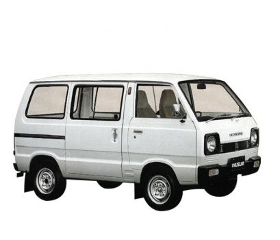 Group D - Minivan (Suzuki S Carry)
